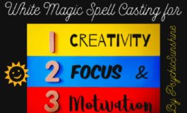 Spell For Creativity Focus And Motivation Using White Magic